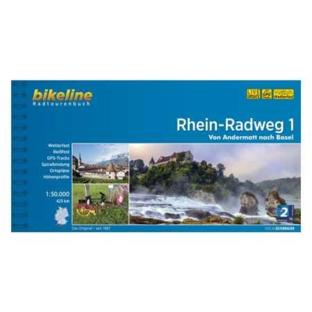 Rajna kerékpárkalauz 1., Rhein-Radweg 1.