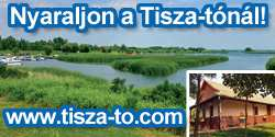 Tisza-tó banner