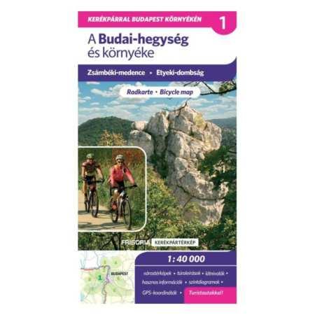 Budai-hegység és környéke kerékpáros térkép