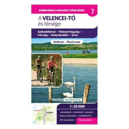 Velencei-tó és térsége kerékpáros és turistatérkép