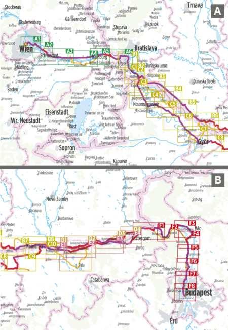 Duna menti kerékpárút, Bécstől Budapestig, Danube Bike Trail 3