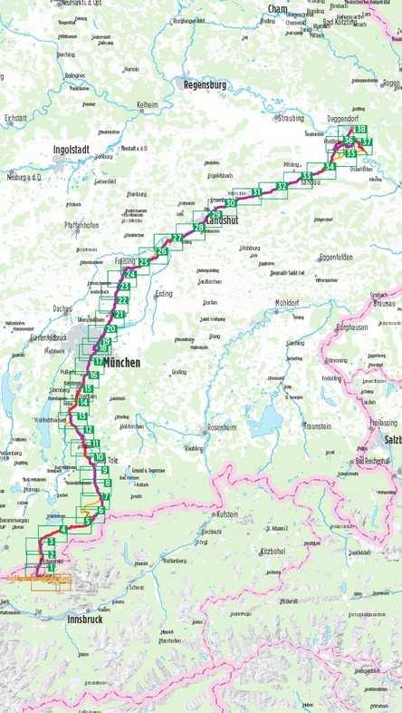 Isar kerékpáros útikalauz, Isar-Radweg