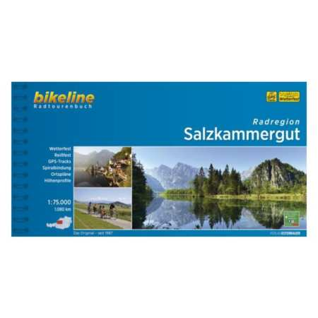 Salzkammergut kerékpáros kalauz, Salzkammergut  Radatlas
