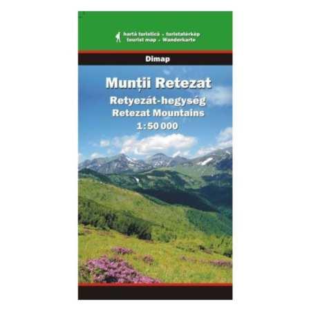 Retyezát-hegység térkép