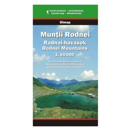 Radnai-havasok térkép