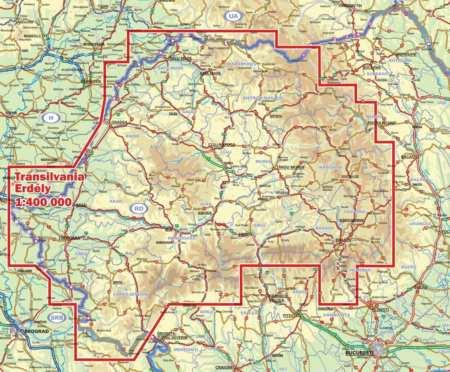 Erdély térkép