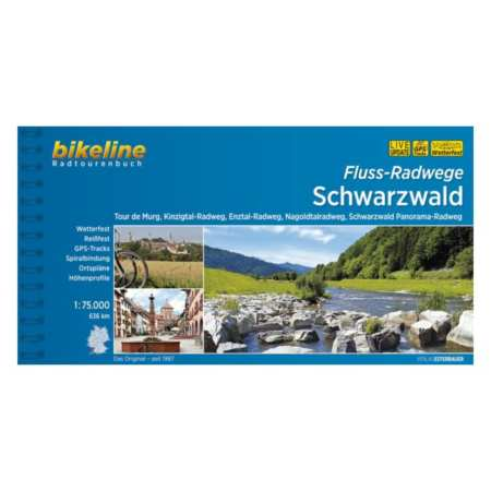 Folyó menti kerékpárutak a Fekete-erdőben, Fluss-Radwege Schwarzwald