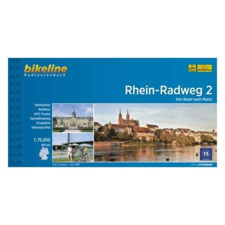 Rajna kerékpárkalauz 2., Rhein-Radweg 2.