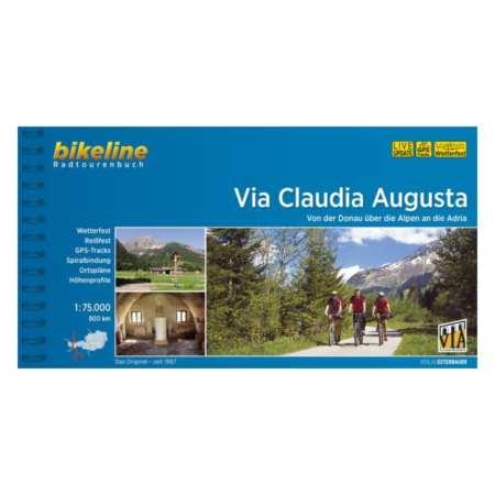 Via Claudia Augusta kerékpárkalauz, Radtourenbuch