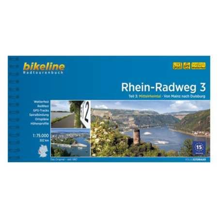 Rajna kerékpárkalauz 3., Rhein-Radweg 3.