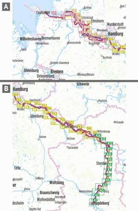 Elba kerékpárkalauz 2, Elbe Radweg Teil 2