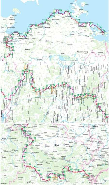 Vasfüggöny kerékpárkalauz 2, Iron Curtain Trail 2