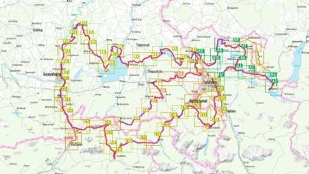 Mozart kerékpárút, Mozart-Radweg