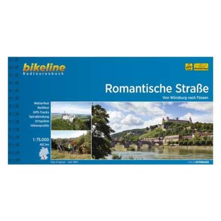 Romantische Straße kerékpárkalauz: Würzburg, Füssen