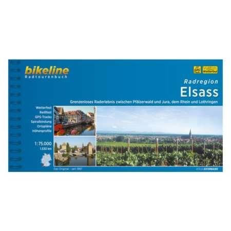 Elzász kerékpáratlasz, Radatlas Elsass Radregion