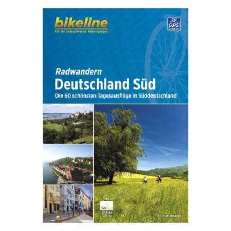 Dél-Németország kerékpárkalauz, Radwandern Deutschland Süd