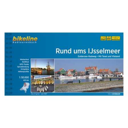 Ijsselmeer és környéke kerékpárkalauz, Rund ums IJsselmeer