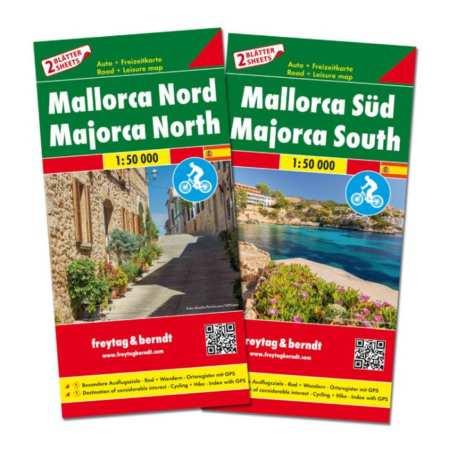 Mallorca Észak, Dél TOP10 térképszett
