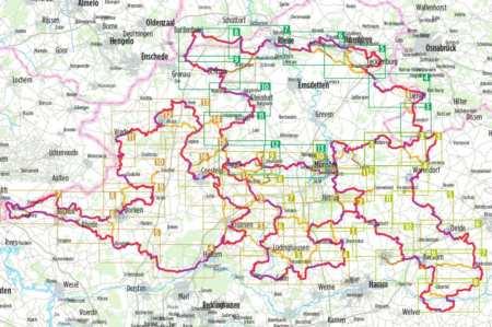 100 kastély kerékpáratlasz, 100 Schlösser Route