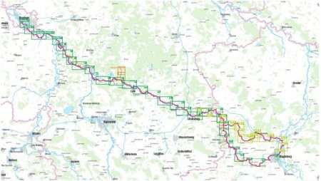 Aller kerékpárkalauz, Aller-Radweg
