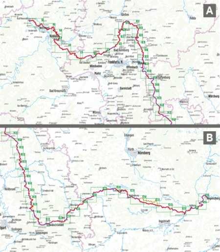 Limes kerékpárkalauz, Limes-Radweg