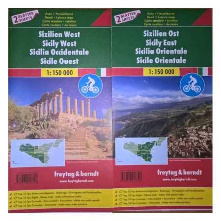 Szicília Kelet, Nyugat TOP10 térképszett