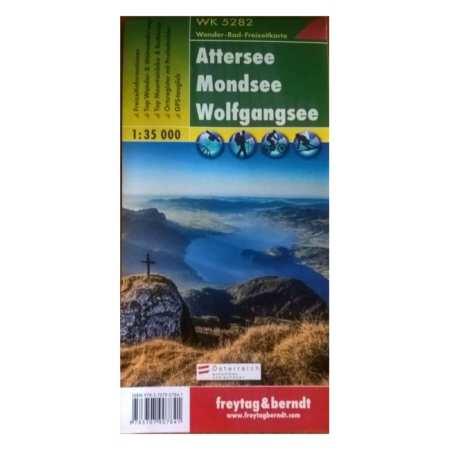 Attersee, Mondsee, Wolfgangsee
