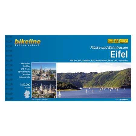 Eifel kerékpárkalauz, folyók és vasutak mentén, Flüsse und Bahntrassen Eifel