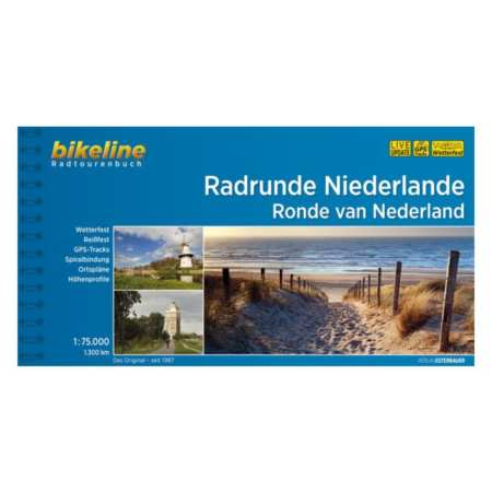 Hollandia körút kerékpárkalauz, Radrunde Niederlande
