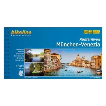 München-Velence kerékpárkalauz, Radfernweg München-Venezia