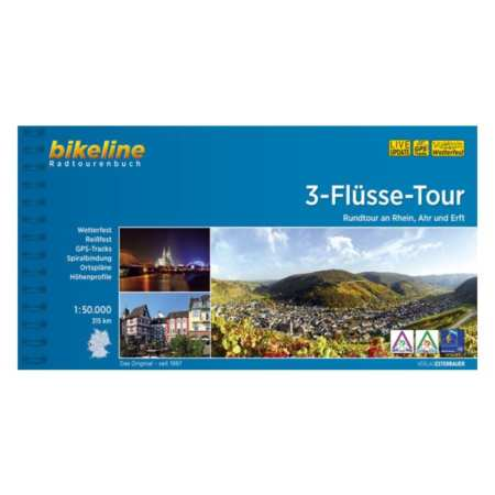 3 folyó kerékpárkalauz, 3-Flüsse-Tour