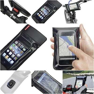 Klickfix Phone Bag S telefontartó kerékpárra