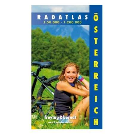 Ausztria kerékpáros atlasz
