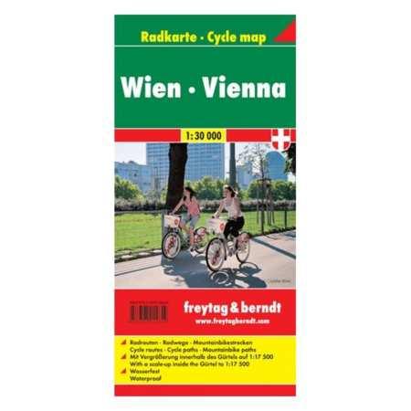 Bécs, Wien kerékpártérkép
