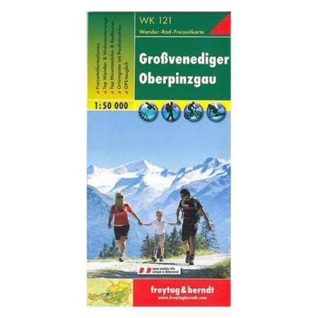 Großvenediger, Oberpinzgau turistatérkép