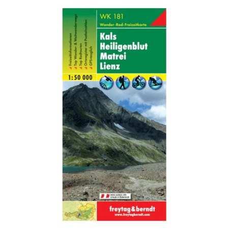 Kals, Heiligenblut, Matrei, Lienz turistatérkép