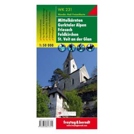 Mittelkärnten, Gurktaler Alpen, Friesach, Feldkirchen, St. Veit an der Glan