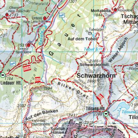 Montafon, Silvretta Hochalpenstraße, Schruns-Tschagguns, Piz Buin, Klosterta