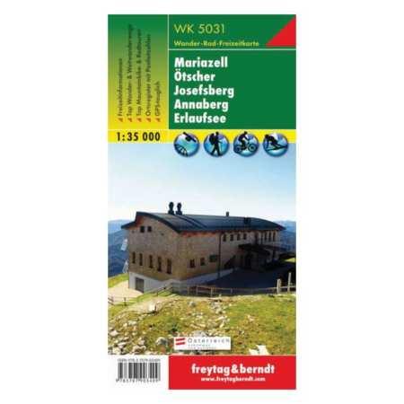 Mariazell, Ötscher, Josefsberg, Annaberg, Erlaufsee turistatérkép