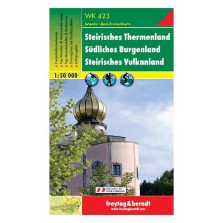 Steirisches Thermenland, Südliches Burgenland, Steirisches Vulkanland