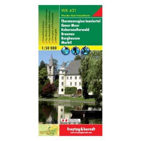 Thermenregion Innviertel, Ibmer Moor, Kobernausserwald, Burghausen, Marktl
