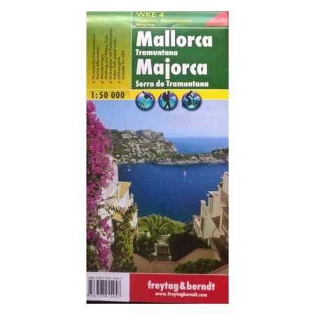 Mallorca, Tramuntana turistatérkép
