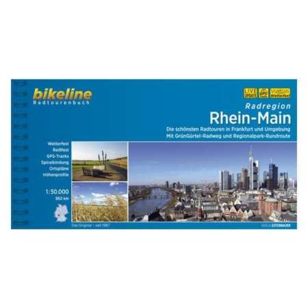 Rajna, Majna kerékpárkalauz, Rhein-Main Radatlas