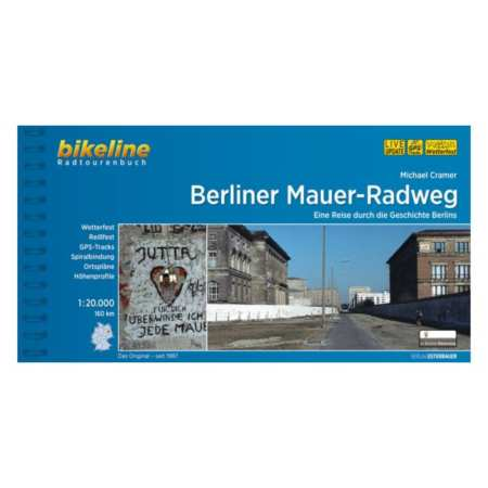 Berlini Fal kerékpárkalauza, Berliner Mauer-Radweg