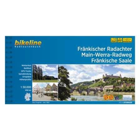 Fränkischer Radachter, Main-Werra-Radweg, Fränkische Saale kerékpárkalauz