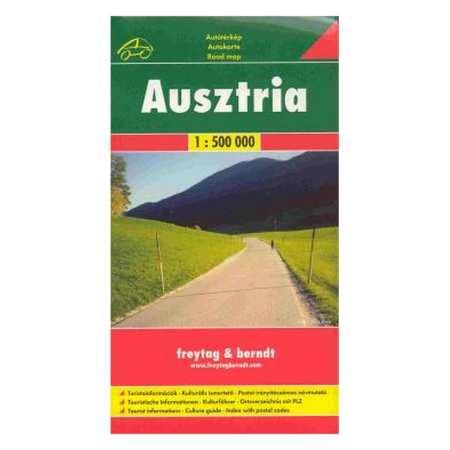 Ausztria 1 500 000 Terkep Freytag Berndt Frigoria Konyvkiado
