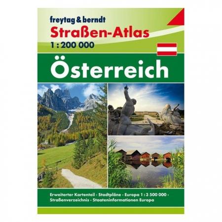 Ausztria Utvonaltervezo Atlasz Freytag Berndt 2018