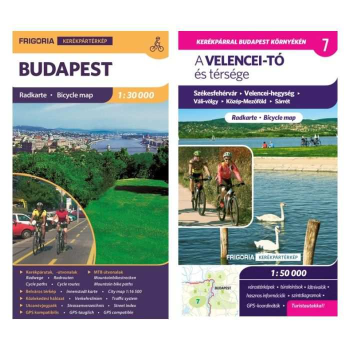 Velencei To Es Tersege Kerekparos Terkep Budapest Kerekparos