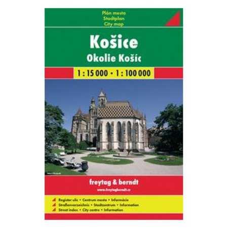 Kassa Es Kornyeke Terkep Kosice Freytag Berndt 2017