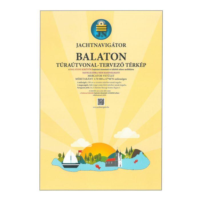 térkép tervező Balaton túraútvonal tervező hajózási térkép / Jachtnavigátor (2019
